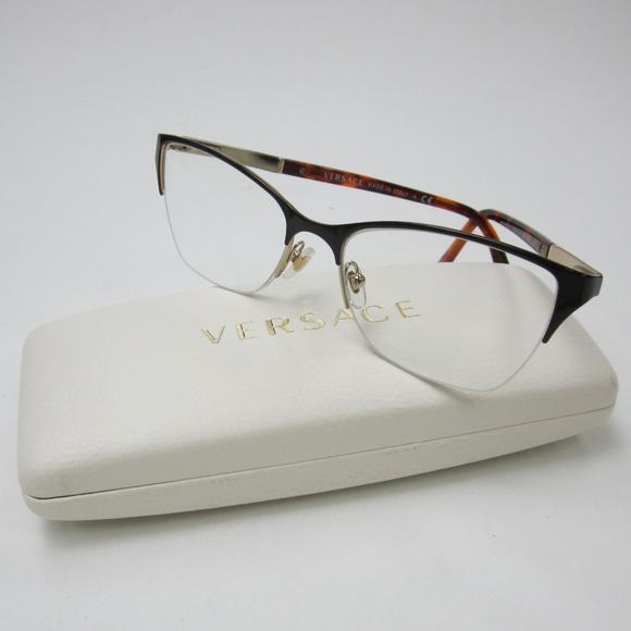 90a7bff8ee Versace MOD 1218 1344 Eyeglasses Italy OLE124. M 5ae781519cc7ef64d70eae7c